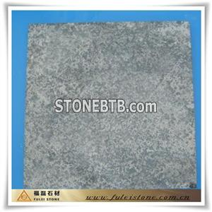 flamed limestone tile