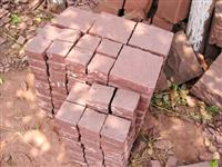 Red Sandstone Cubes Tile
