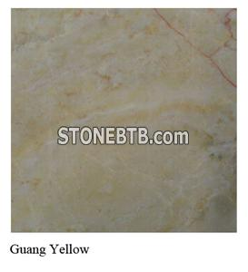 Guang Yellow Chinese Marble Tiles