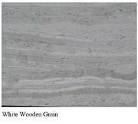 White Wooden Grain Chinese Marble tiles