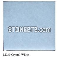 Crystal White Chinese Marble tiles