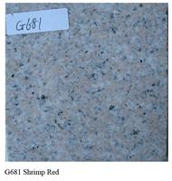 Granite G681 Shrimp Red
