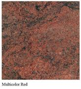 Granite Multi-Color Red