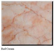 Red Cream Chinese Marble tiles