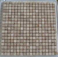 Mosaics-Beige Travtine Tumbled Tiles