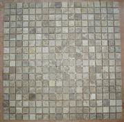 Mosaic Tiles-Light Emperador Tumbled