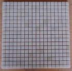 Mosaic Tiles-White Marble Polished