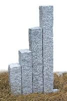 Granite Posts-Bush Hammered