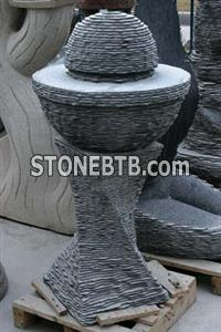 Fountain-Black Granite
