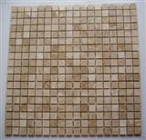 Mosaic Tiles-Travertine Light Polished