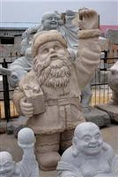 Stone Sculpture-Santa Claus