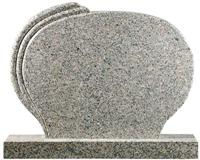 Headstone-Granite Round Shape