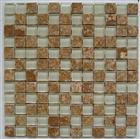 Beige Marble & Glass Mixed Mosaics