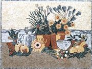 Artistic Mosaics With Fruits & Flowers