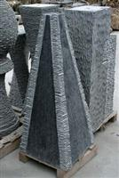 Stone Fountain Tower-Black Granite