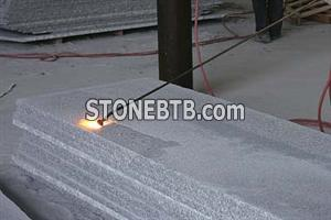 Flamed Tiles-Grey Granite