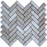Grey Travertine Mosaics