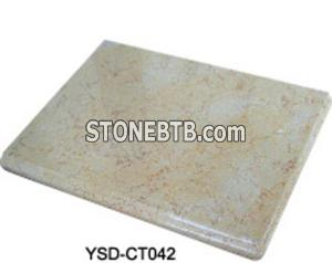 Kitchen Tops-Cream Marble