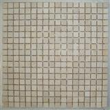 Mosaic Tiles-Sunny Beige Tumbled Marble
