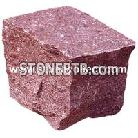 Red Porphyr Cobble Stone, Paving