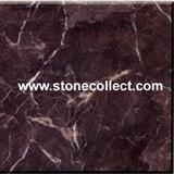 Dark Emperador marble tiles, slabs