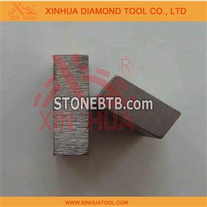 diamond segment for andesite