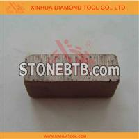 diamond segment for marble cutting