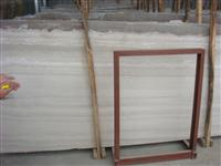 wooden white marble