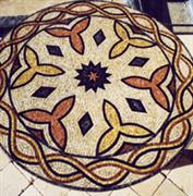 Mosaic works from stones