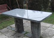 Granite Tables, Benches