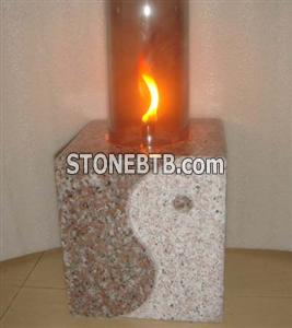 Granite natural stone oil lanterns-011