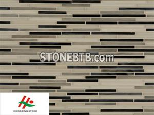 Colored Glass Mosaic Tile