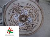Natural Marble Pattern Medallion