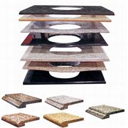 Granite Vanity Tops - in White/Black/Red/Yellow/Green/Blue Colors