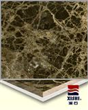 marble and calcium silicate dark emperador