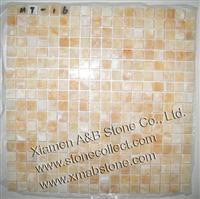 Yellow Onyx mosaic tiles MT-16