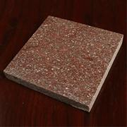 Deep red natural stone