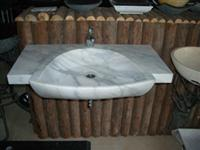 White Marble Wash Basins