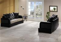Natural Light Travertine Pattern Set