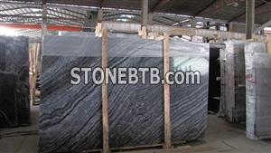 China Wooden Black Marble