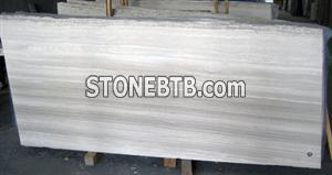 China Guizhou Wood Marble Slab