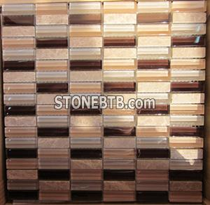 Glass and Marble Mosaic 10