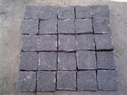 ZP Basalt Black Cobble On Mesh-1