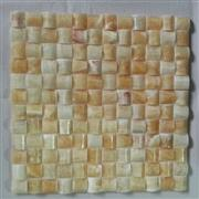 M-023 yellow Chinese onyx mosaic