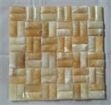 M-019 Yellow Chinese onyx mosaic