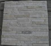 CS-011, White quartzite culture stone