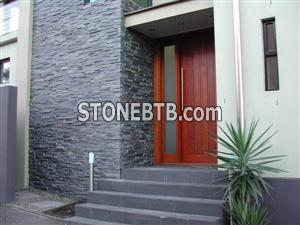 CS-024, classic black slate culture stone