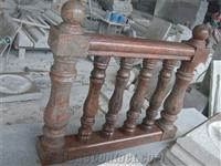 Multicolor Red Baluster