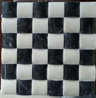 M-039 Chinese black & white onyx mosaic