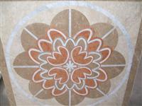 HM-005, Waterjet Medallion tile